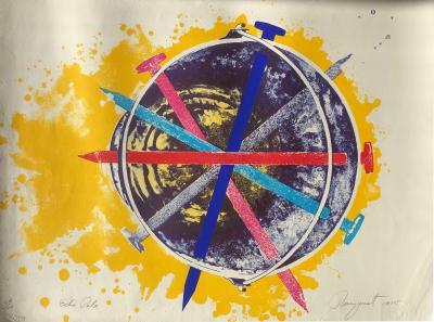 James Rosenquist Echo Pale From Mirrors of the Mind Portfolio 1975