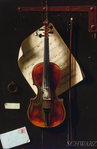James W Brook The Old Violin
