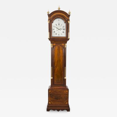 James Worrel Clarke Georgian Tall Case Clock by J W Clarke Circa 1770