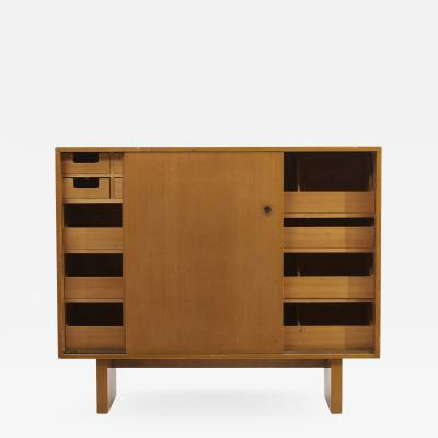 James Wylie Wooden Cabinet with many drawers by James Wylie for Widdicomb US 1950s