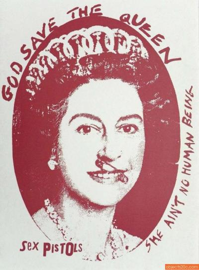 Jamie Reid Jamie Reid God Save The Queen Print 1997 3 Available