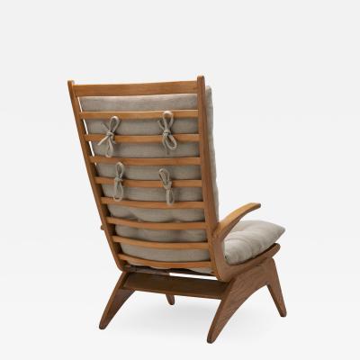 Jan Den Drijver Dutch Modern Lounge Chair by Jan den Drijver for De Stijl The Hague 1950s