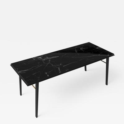 Jan Garncarek AES Black Marble Contemporary Desk Jan Garncarek