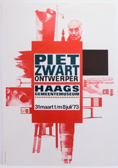 Jan Kuipers Piet Zwart Exhibition Poster