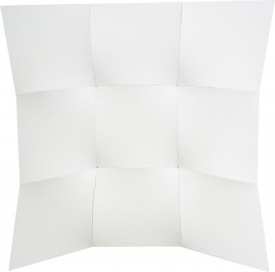Jan Maarten Voskuil Nine White Squared Circles III
