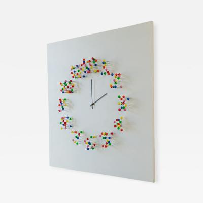 Jan Paul Meulendijks Discodip illusionistic wall clock