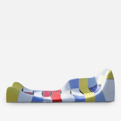Jan Snoeck Jan Snoeck Ceramics Daybed or Sculpture from the Ms Volendam Netherlands 1994