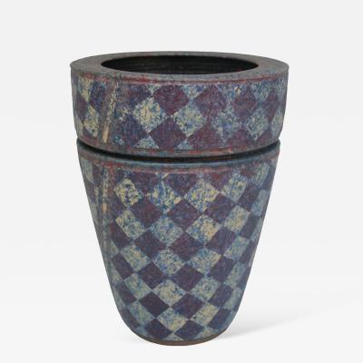 Jane Arnold Stoneware Double Vase