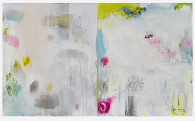 Jane Booth Channels and Fields diptych