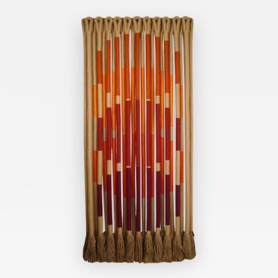 Jane Knight Orbs by Fiber Artist Jane Knight 1928 2013