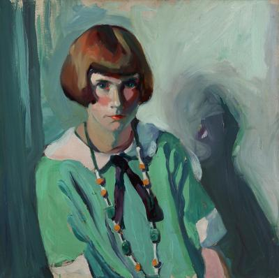 Jane Peterson The Green Dress