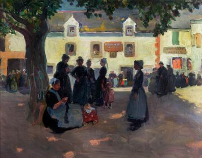Jane Peterson Village Square Brittany