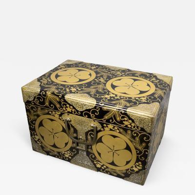 Japanese Lacquer Kimono Box