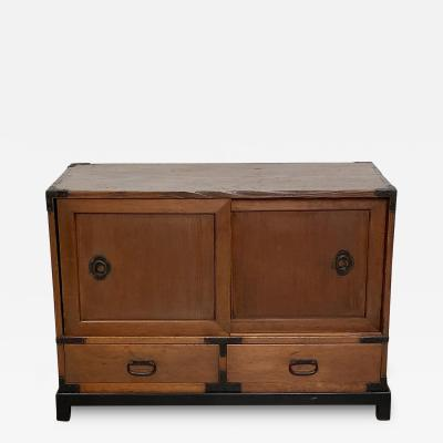 Japanese Low Tansu Circa 19th Century