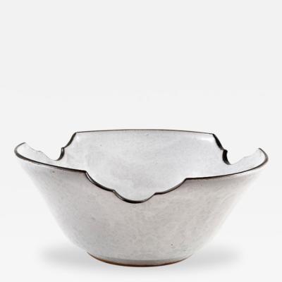 Japanese Mid Century Modern Art Studio Pottery Bowl
