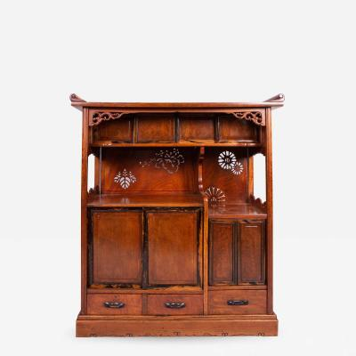 Japanese Tana Tea Cabinet