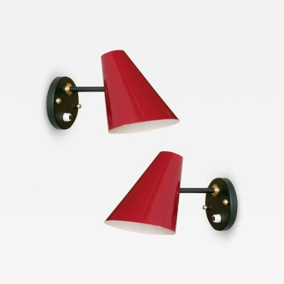 Jaques Biny Pair of Jacques Biny Wall Lamps