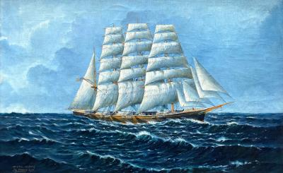 Jas Fraser Clipper Ship
