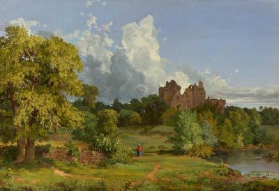 Jasper Francis Cropsey Doune Castle