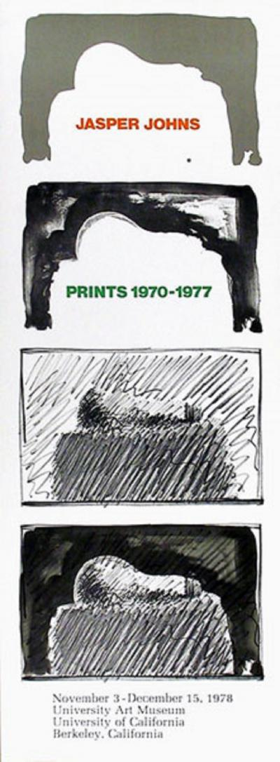 Jasper Johns Jasper Johns Prints 1970 1977 Poster