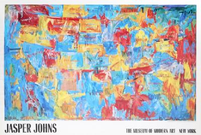 Jasper Johns Jasper Johns The Museum of Modern Art Map