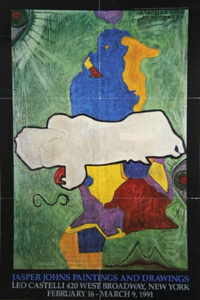 Jasper Johns Leo Castelli Jasper Johns Paintings and Drawings Poster
