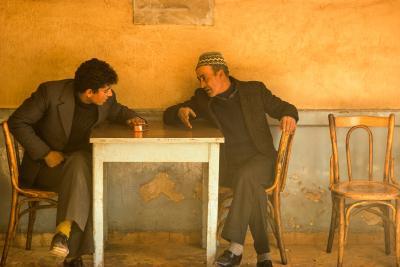 Jay Maisel Two Men in Jerusalem