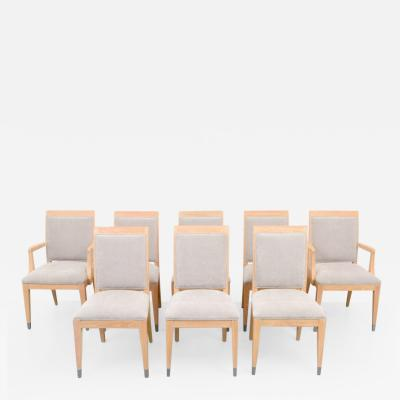 Jay Spectre Jay Spectre Dining Chairs Set of Eight