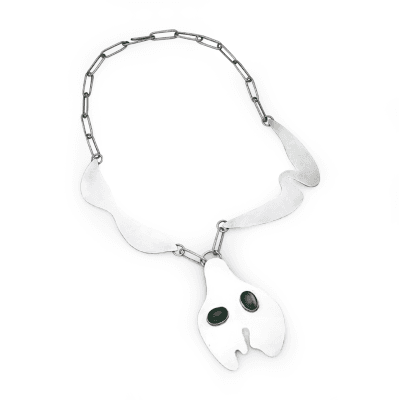 Jean Arp Jean Arp Necklace with Jadeite
