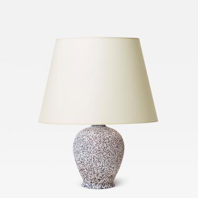 Jean Besnard Petite table lamp with cactus form attrib Jean Besnard