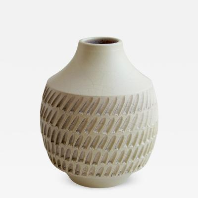 Jean Besnard Textured Vase by Jean Besnard