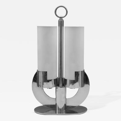 Jean Boris Lacroix Art Deco Lamp Attributed to Boris Lacroix