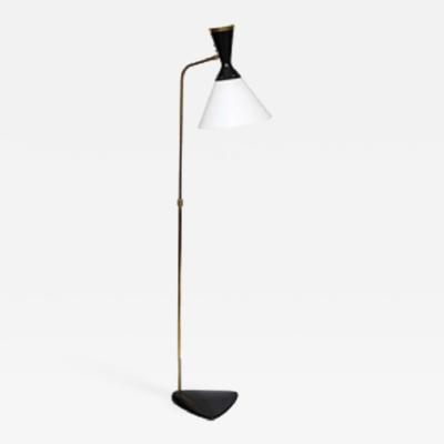 Jean Boris Lacroix Boris Lacroix Articulated Floor Lamp Mid Century Modern France 1950s