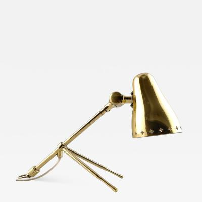 Jean Boris Lacroix Brass table Lamp that can also be hung as a sconce on the wall