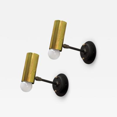 Jean Boris Lacroix Pair of Boris Lacroix Wall Lights