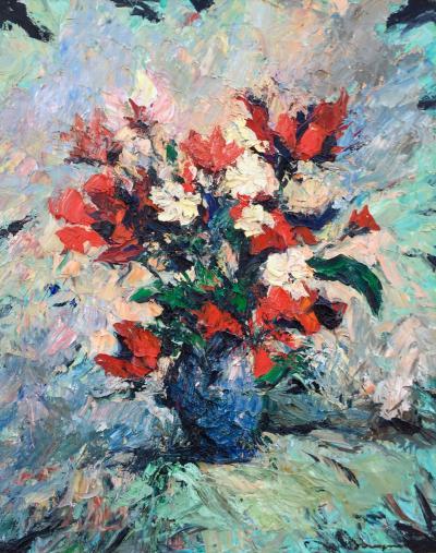Jean Bousquet Blue Vase