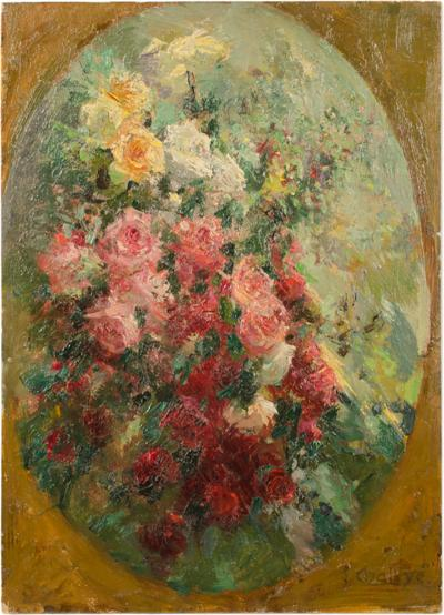 Jean Chaleye Jean Chaleye FRENCH 1878 1960 Framed Flowers