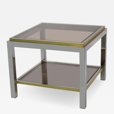 Jean Charles Modernist Side Table by Jean Charles