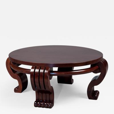 Jean Charles Moreux Coffee Table Attr Jean Charles Moreux 1889 1956 France Art Moderne ca 1940