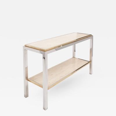 Jean Charles Moreux Jean Charles Moreux Brass Console Table