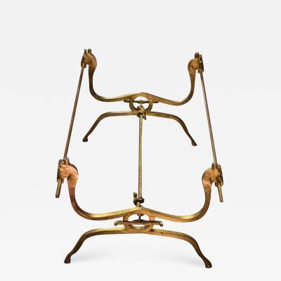 Jean Charles Moreux Jean Charles Moreux Gilt Iron Table