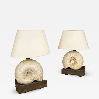 Jean Charles Moreux Pair of Jean Charles Moreux Table Lamps circa 1940 France