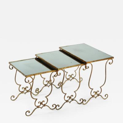 Jean Charles Moreux Style of J C Moreux Stack Tables