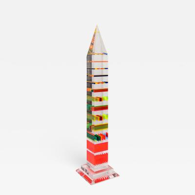 Jean Claude Farhi Important obelisk