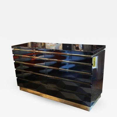Jean Claude Mahey A Chest of Drawers Signed by Jean Claude Mahey France 1970