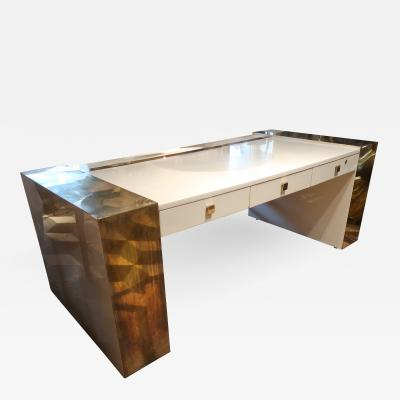 Jean Claude Mahey An impressive writing table signed by Jean Claude Mahey France 70
