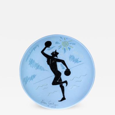 Jean Cocteau Contre Jour Ceramic Plate