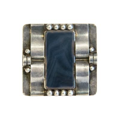 Jean Despres Brooch by Jean Despr s
