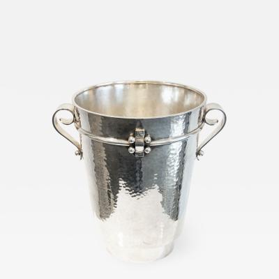 Jean Despres Champagne ice bucket by Jean Despr s