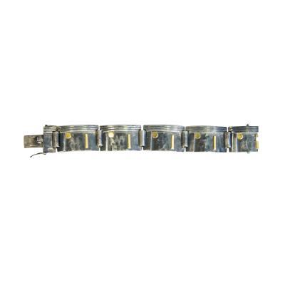 Jean Despres Silver bracelet by Jean Despr s